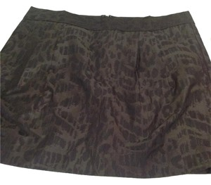 Gap Mini Skirt Olive green/black