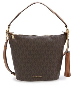Michael Kors Elana Signature Medium Shoulder Bag