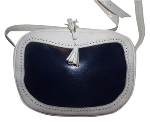 Bally Mint Vintage Gold Hardware Spectator Style Nautical Look Color-block Style Cross Body Bag