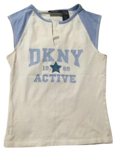 DKNY Sleeveless Baseball T Shirt
