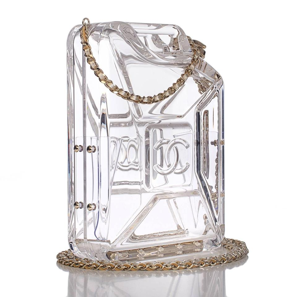 ce175f90dfbe Chanel Minaudiere Dubai Collection Resort Clear GHW Clutch Image 0 ...