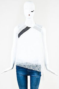 Peter Pilotto Navy Top White