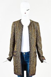Chanel Metallic Gold Jacket