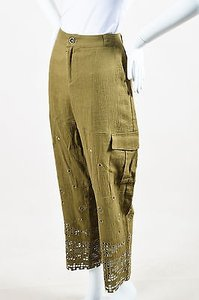Sea New York Army Crinkle Cargo Pants Green