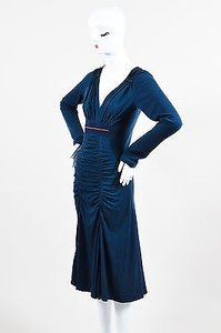 Donna Karan Karen Collection Navy Dress