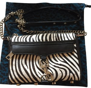 Rebecca Minkoff Zebra Purse Cross Body Bag