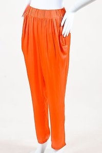 Alexis Bittar Satin Tapered Pants