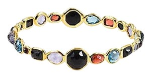 Ippolita Ippolita 18k Yellow Gold Multicolor Gemstone Rock Candy Bangle Bracelet