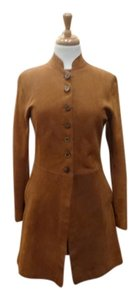 Scully Never Worn Leather Suede Reversible Coat