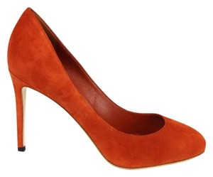 Gucci 338776 Womens Suede New Rust/6419 Pumps