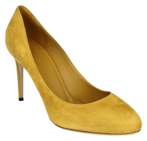 Gucci 338776 Womens Suede Nectarine/7012 Pumps