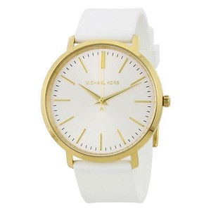 Michael Kors Michael Kors Jaryn Silver Dial Ladies Watch