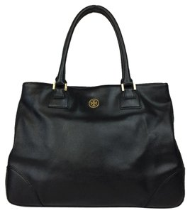 Tory Burch Gold Hardware Tote in Navy