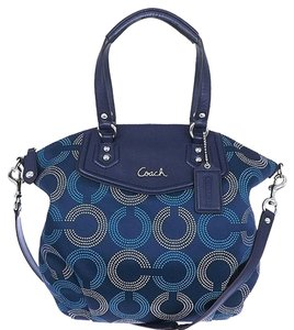 Coach Signature Large Shoulder Bag