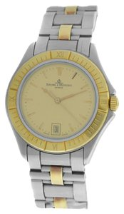 Baume & Mercier Authentic Unisex Baume & Mercier MV045045 Steel 18K Gold Date