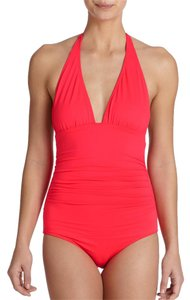 Shoshanna Shoshanna Halter One Piece Swimsuit