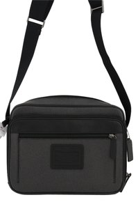 Coach New Men Flight Case Shoulder Crossbody F70848 Men Men Men Shoulder New Flight Flight Case F71409 CHarcoal gray Messenger Bag