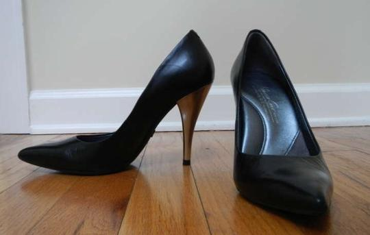 Kenneth Cole Stiletto Leather Black Pumps