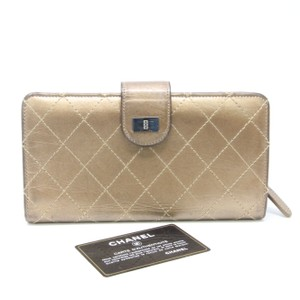 Chanel Chanel Long CC Button Fold Long Wallet