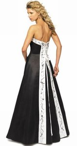 Alexia Designs Black / White Trim Style 2612 Dress