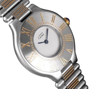 Cartier Cartier Must De 21C Ladies Watch - Stainless Steel & 18K Gold