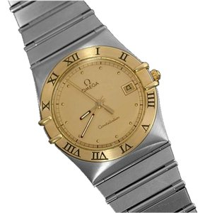 Omega Omega Constellation Mens 35mm Watch, Quartz, Date