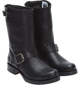 Frye Engineer Slouch Black Boots