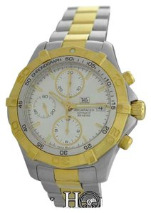 TAG Heuer Genuine Men's Tag Heuer Aquaracer CAF2120 Chronograph Date 300M