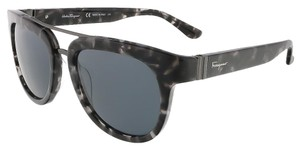 Salvatore Ferragamo Salvatore Ferragamo Grey Marble Aviator Sunglasses