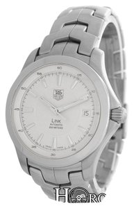 TAG Heuer Authentic Men's Tag Heuer Link WJF2111 Stainless Steel Date 200M
