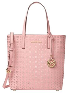 Michael Kors Jet Set Item Tote in blossom /gold tone