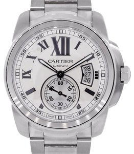 Cartier Cartier Caibre Silver Dial Stainless Steel Automatic Watch