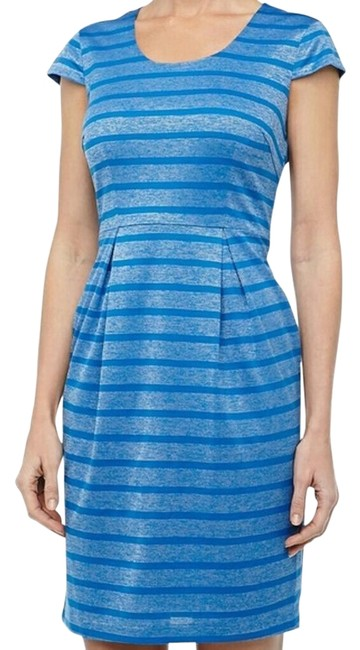 Item - Blue Jay Metallic Striped Mid-length Short Casual Dress Size 10 (M)
