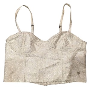 Abercrombie & Fitch Top Silver
