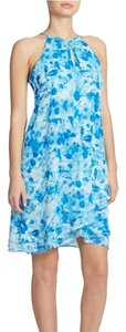 Calvin Klein short dress Tie Dye Trapeze Printed Summer Flowy on Tradesy