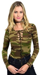 Top Chic Top Camoflage
