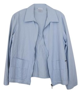 Chanel Identification Spring Baby Blue Jacket