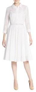 Oscar de la Renta short dress White on Tradesy