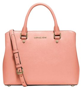Michael Kors Anabelle Tote in peach Gold