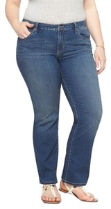 Ava & Viv Boot Cut Jeans-Medium Wash