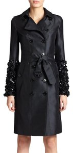Burberry Sequin Silk Night Out Party Trench Trench Coat