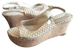 Via Spiga Cream Wedges