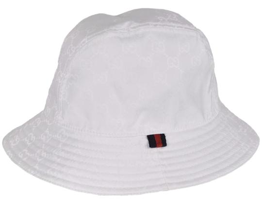 Lyst - Gucci Baseball Hat with Grommets and Adjustable ... |White Gucci Hat