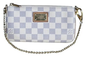 Louis Vuitton Milla Mm Eva Wristlet Azur Clutch