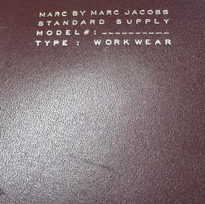 Marc Jacobs Workwear