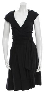 Diane von Furstenberg Sleeveless Dvf Lbd Wrap Dress