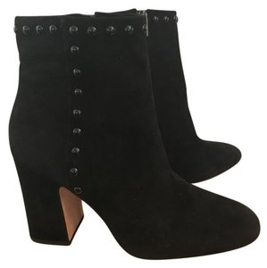 Coach Bootie Suede Ankle Black Boots