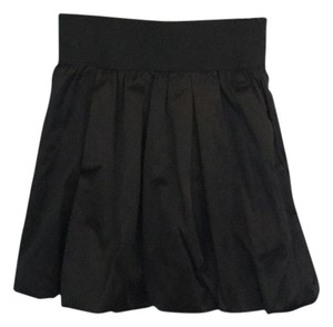 Aqua Mini Skirt Black