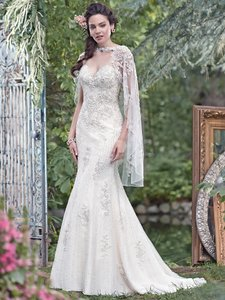 Maggie Sottero Radella Cape Wedding Dress