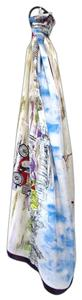 Chico's Traveling Jackie Straight Oblong Silk Scarf